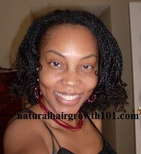 Natural Hair Styles – Flexirod Set Twists