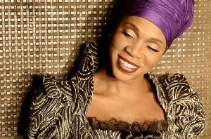 India Arie in Head Wrap