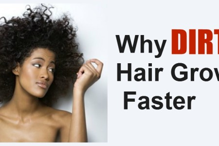 Why Dirty Hair Grows Faster