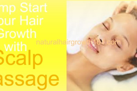 Jump Start your Hair Growth with Scalp Massage