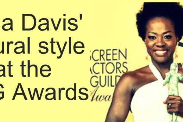 Viola Davis' Natural Style at the SAG awards