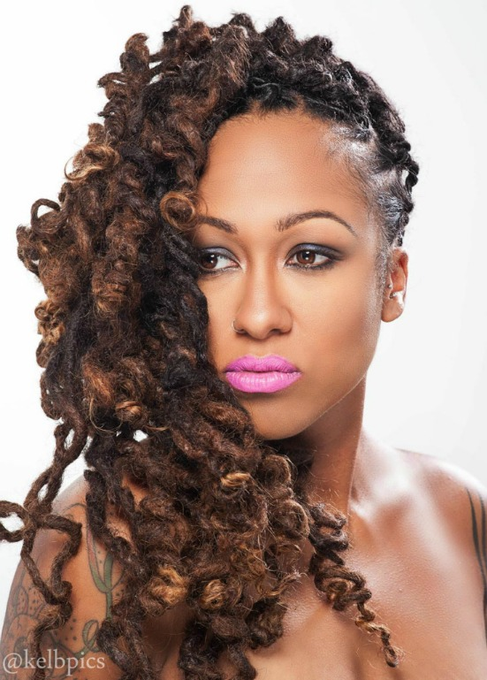 Related Pictures natural hair locs long locs